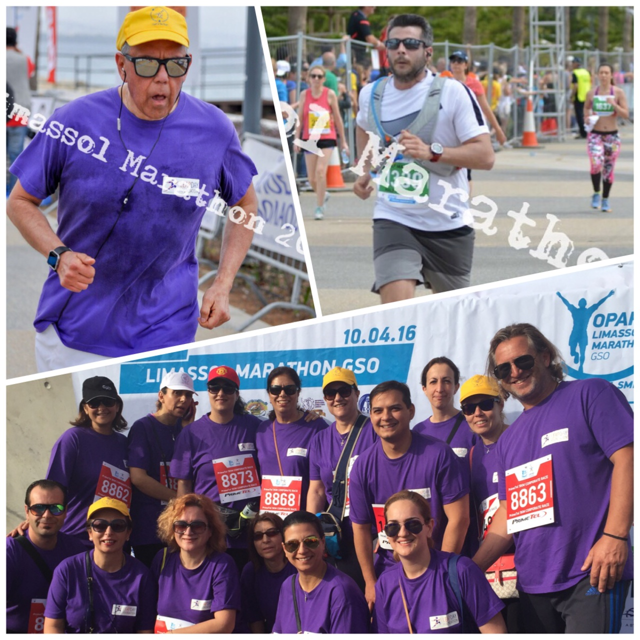 LDF Team participated to the Limassol Marathon 10th April 2016