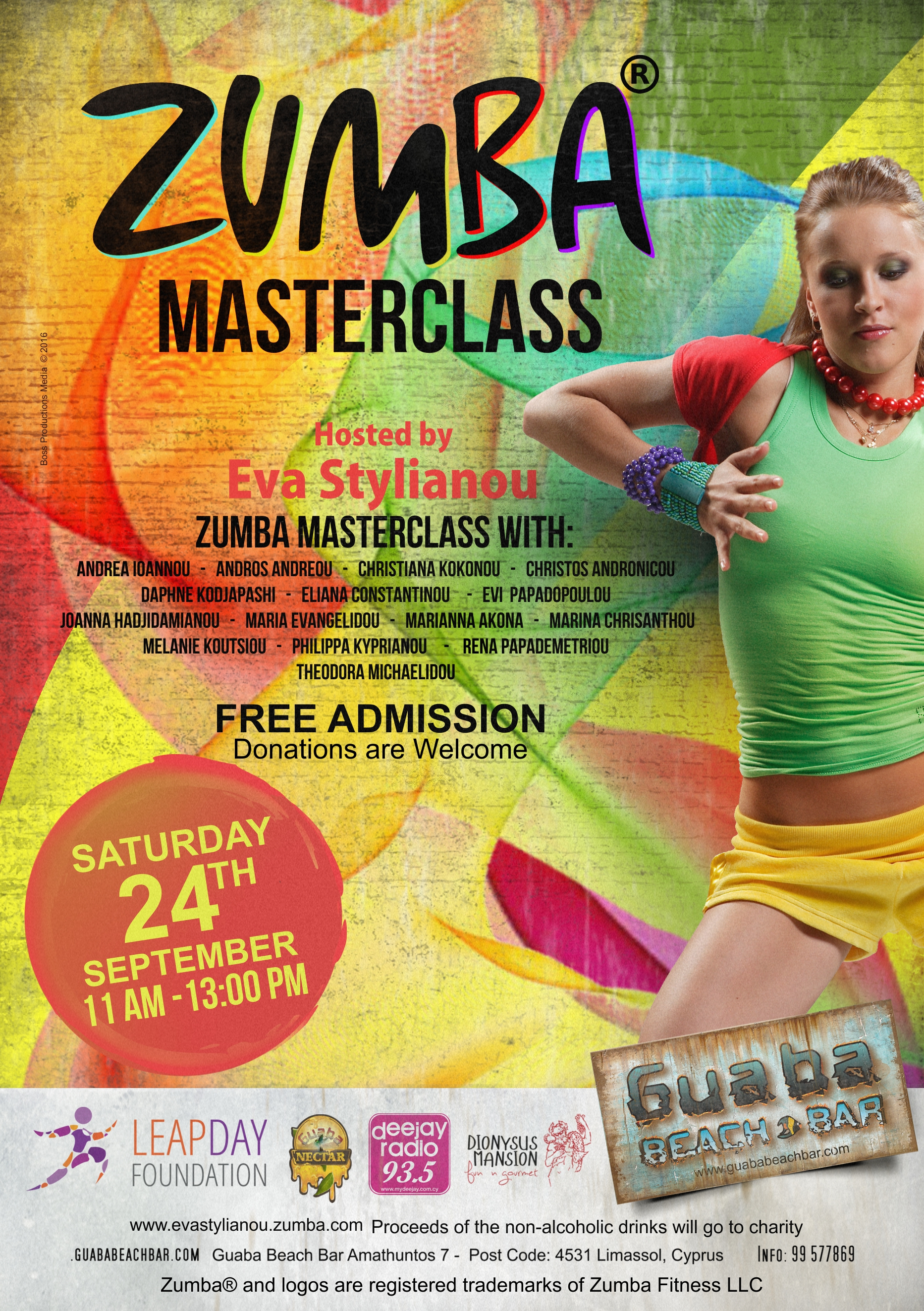 Zumba Masterclass Event | 26 September 2016